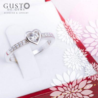 แหวนหัวใจ แสนน่ารัก